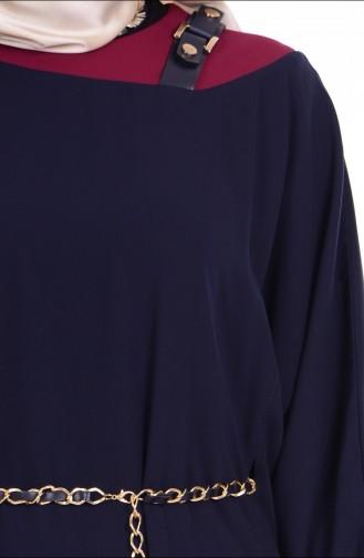 تونيك بتصميم أكمام واسعة 0686-02
