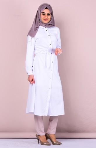 White Tunic 2113-15