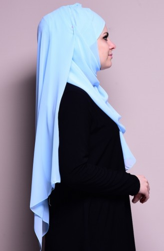 Baby Blues Ready to wear Turban 27