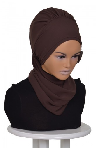 Brown Ready to wear Turban 0026-6