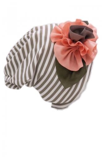Silver Mink Hat and bandana models 50