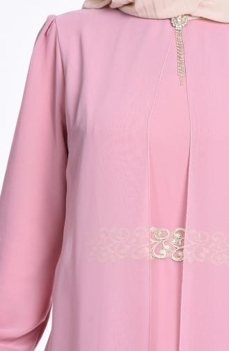 Robe Hijab Poudre 52221-20