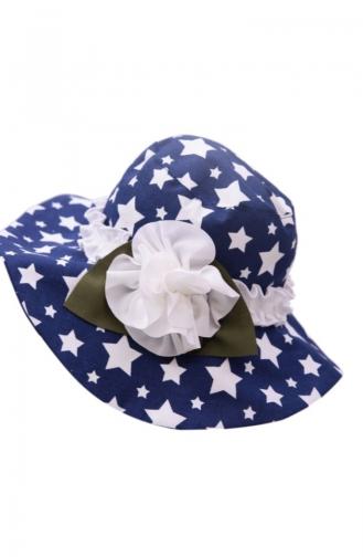 Navy Blue Hat and bandana models 103