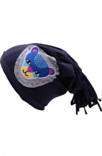 Püsküllü Şapka NS116 Lacivert