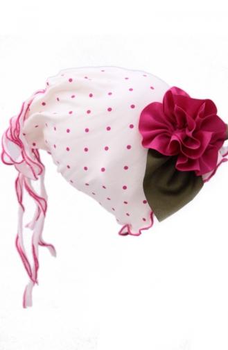 Chapeau et Bandana Rose 35