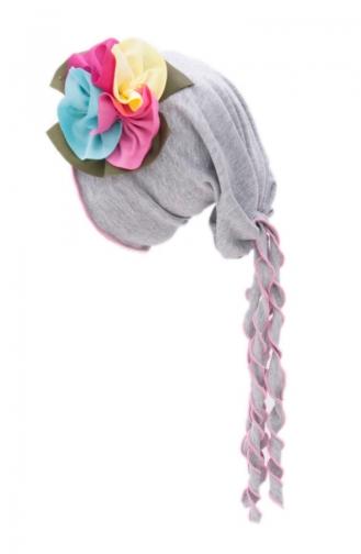 Chapeau Accessoire Fleur NS99 Gris 99