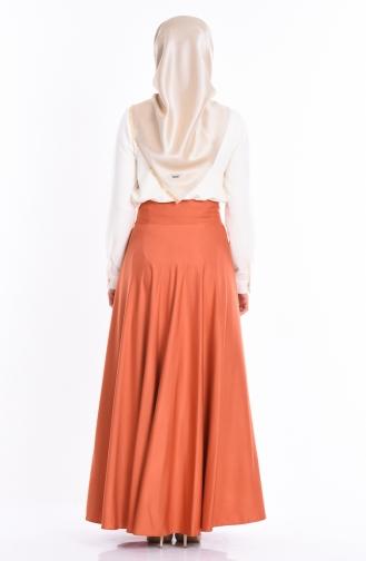 Brick Red Skirt 2146-10