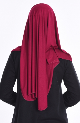 Sefamerve Nacre Combed Cotton Shawl 73 Light Maroon 73