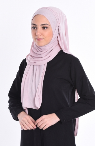 Sefamerve Sedef Cotton Shawl 78 Powder Pink 78