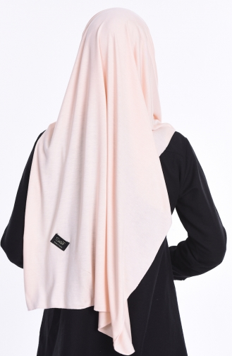 Sefamerve Nacre Combed Cotton Shawl 75 Light Salmon 75