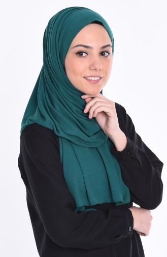 Sefamerve Nacre Combed Cotton Shawl 76 Emerald Green 76