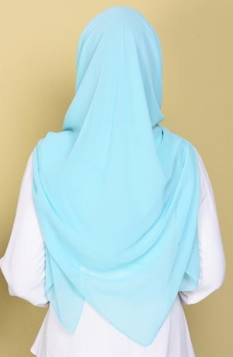 Echarpe Bleu menthe 15001-54