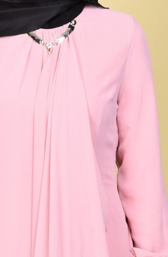Kleid mit Halskette 52547-11 Puder 52547-11