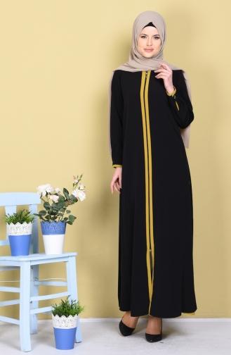 Black Abaya 1057-05