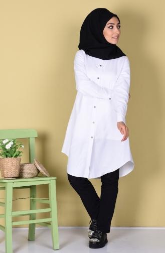 White Tunic 6251-16