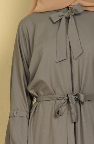 Khaki Abaya 7720-01