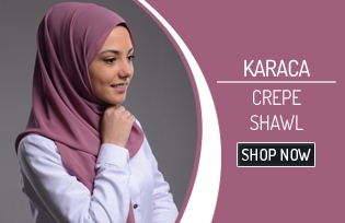 Karaca Crepe Shawl 90163