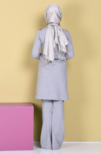 Gray Sweatsuit 0360-03