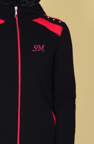 Black Sweatsuit 0360-01