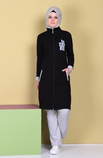 Black Sweatsuit 17007-02