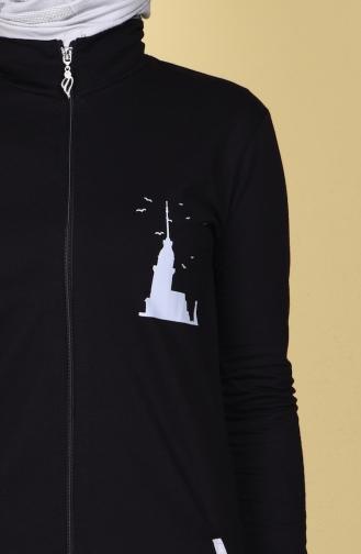 Black Sweatsuit 17008-01