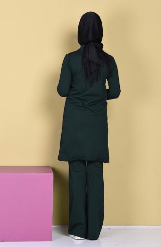 Green Sweatsuit 0360-05