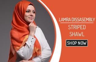 Dissasembly Striped Shawl 50002
