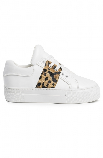 White Sport Shoes 7001-06