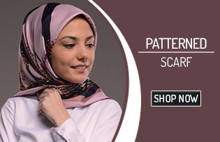 Patterned Scarf 50155