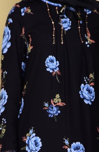Robe Hijab Bleu 1228-01