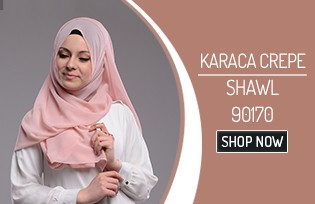 Karaca XL Krep Şal 90170