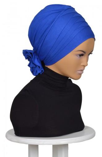 Fertiges Kopftuch aus Gekämmte Baumwolle-SAKS B0014-4 0014-4