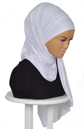 White Ready to wear Turban 0001-12