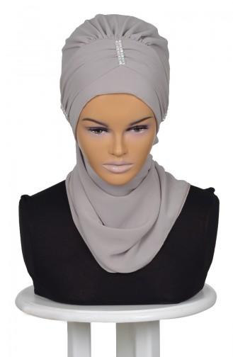 Fertige Kopftuch aus Chiffon-Nerz HT0051-4 0051-4