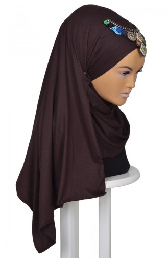 Brown Shawl 0032-5