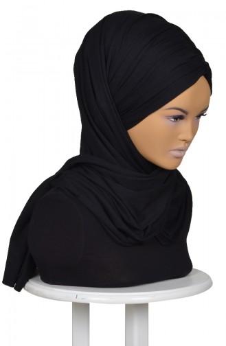 Bonnet aus Gekämmte Baumwolle-Schwarz CPS0044-6 0044-6