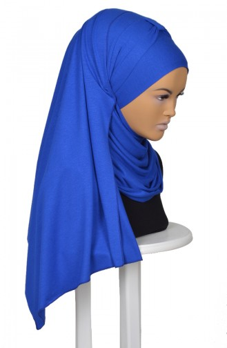 Saxon blue Shawl 0046-4