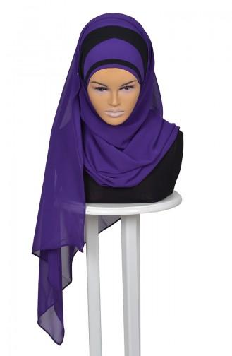 Purple Ready to wear Turban 0065-20-14