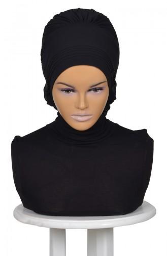 Black Ready to wear Turban 0031-14