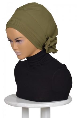 شال للرأس من الشيفون و البوليستر بتصميم مميز  0031-17