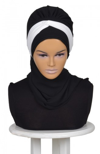 Black Ready to wear Turban 0046-14-24