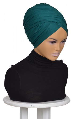 القبعات أخضر داكن 0298-14