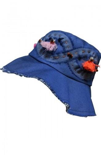 Indigo Hat and bandana models 112