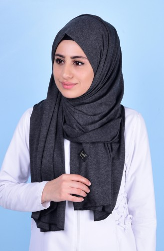 Light Black Shawl 83