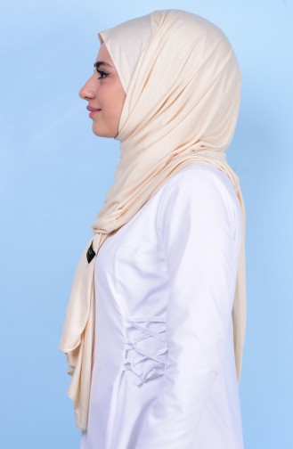 Sefamerve Sedef Cotton Shawl 81 Cream 81