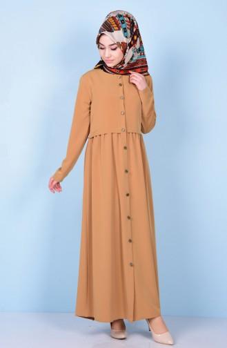 Mustard Abaya 2111-04