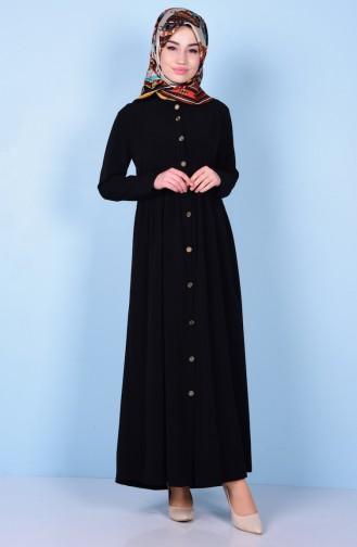 Black Abaya 2111-09
