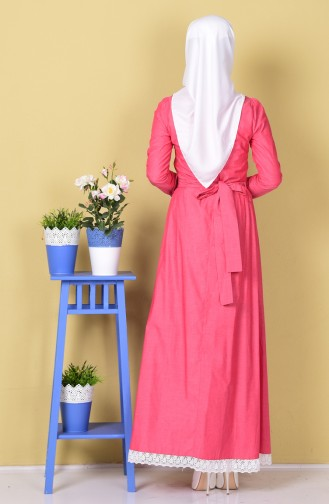 Coral Dress 0115-03