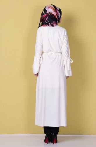 Ecru Abaya 7720-06
