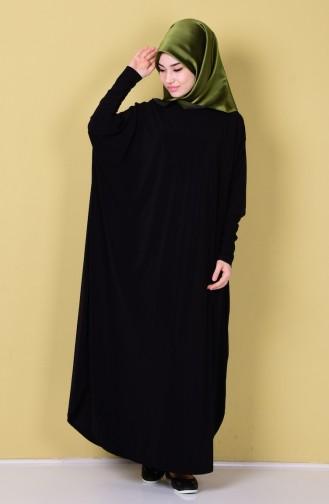 Abaya 17141-01 Noir 17141-01